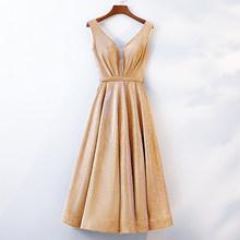 פוקסיה בלינג שמלות נשף דובאי ארוך כבוי כתף ערבית ערב מסיבת שמלות 2018 אלגנטית זהב פאייטים פורמליות שמלה(China)