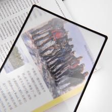 Buy 180X120mm Convinient A5 Flat PVC Magnifier Sheet X3 Book Page Magnification Magnifying Reading Glass Lens Free for $1.16 in AliExpress store