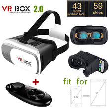 Google Cardboard VR BOX 2.0 II Smartphone Headset 3D Virtual Reality Glasses Helmet Goggle Oculus Rift DK2 Head Mount+Controller