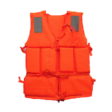 1pc EPE Foam Children Adult Flotation Swimming Life Vest Suit with Survival Whistle Life Jacket For Fishing Boating Surfing 5#
