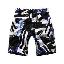 Wholesale Kids Flash Drying Board Shorts Boys Casual Loose Print Surf Shorts Fashion Childrens Beach Swim Wear Summer Swimming