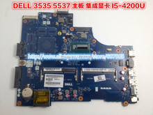 LA-9982P For Dell Inspiron 15R 3537 Motherboard with cpu I5-4200U LA-9982P 000GCY 100% tested(China (Mainland))