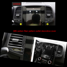 Buy car-styling ABS carbon fiber Console Air Conditioning Outlet Vent Moulding trim Interior cover Renault Koleos 2 2016 2017 for $11.69 in AliExpress store