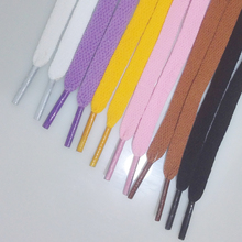 1 PAIR 6 COLORS  Shoelace Athletic Sport Sneakers Flat Shoelaces Bootlaces Shoe laces Strings  DDSLA1013-1B(China (Mainland))
