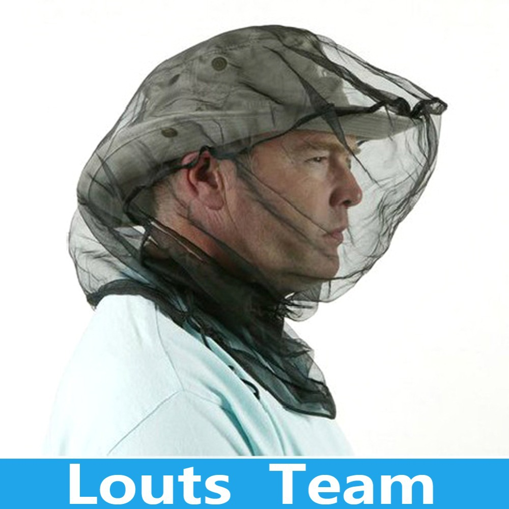 Generic High quality Camping Head Mesh Mosquito Insect Bug Bee Face Protect Hat Net Fishing Hunting(China (Mainland))