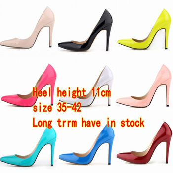 New Free shipping fashion pointed toe high heeles shoes nightclub weeding party Shallow mouth women's pumps shoes size 35-42