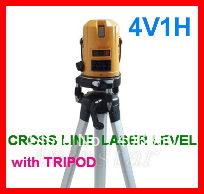 CROSS LINE LASER LEVEL TRIPOD CONSTRUCTION TOOL KIT SET<br><br>Aliexpress