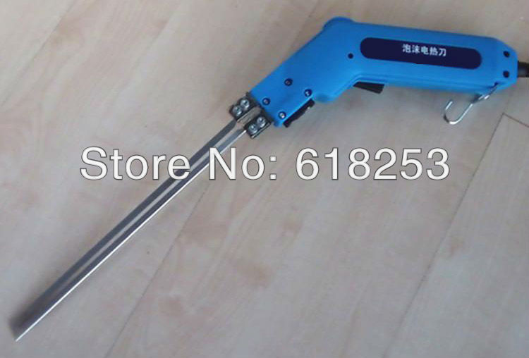 220-240v 250W 500degree 275g cutting 250mm cable 2.5m VDE plug Power Electric hot knife foam cutter(China (Mainland))