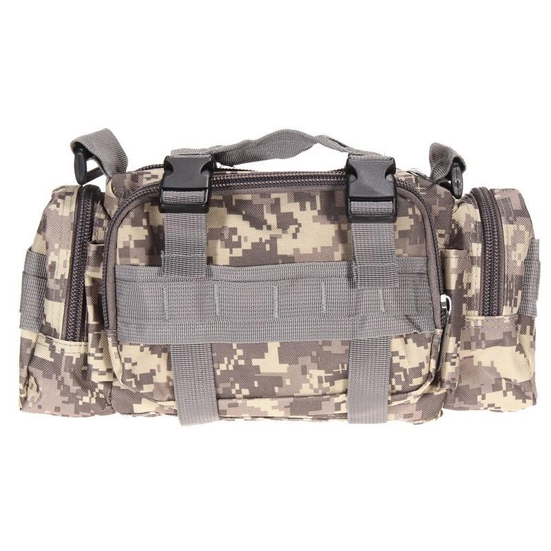 Тактическая Сумка спортивные сумки 600D Водонепроницаемый ткань Оксфорд талии пакет военной Молл Открытый мешок Сумка для походов EA14 Кемпинг