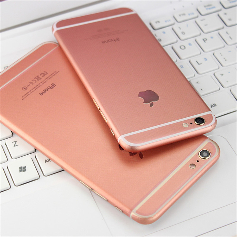Fashion Rose Gold Full Body Decal Back Film Sticker Case Cover For iPhone 6 /6 plus /6s plus(China (Mainland))