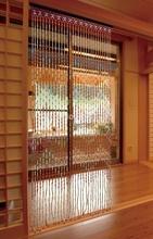 Fashion Wood Bead Door Curtain Bamboo Door Curtain, Feng Shui Curtain, Chinese Vestibule Curtain, Free shipping(China (Mainland))