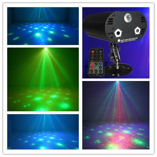 Remote control 3-hole laser light stage lighting 72 in 1 Sound bar ktv flash<br><br>Aliexpress