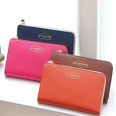 Hot Women Coin Card Phone Holder Clutch Purse Faux Leather Zip Long Handbag Wallet CC1168<br><br>Aliexpress