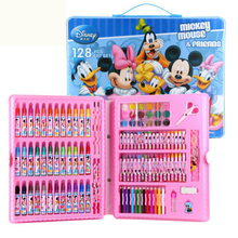 wj003 Hot new rushed kit escolar bolso stationery set gift primary children birthday school tools supplies essential papelaria(China (Mainland))