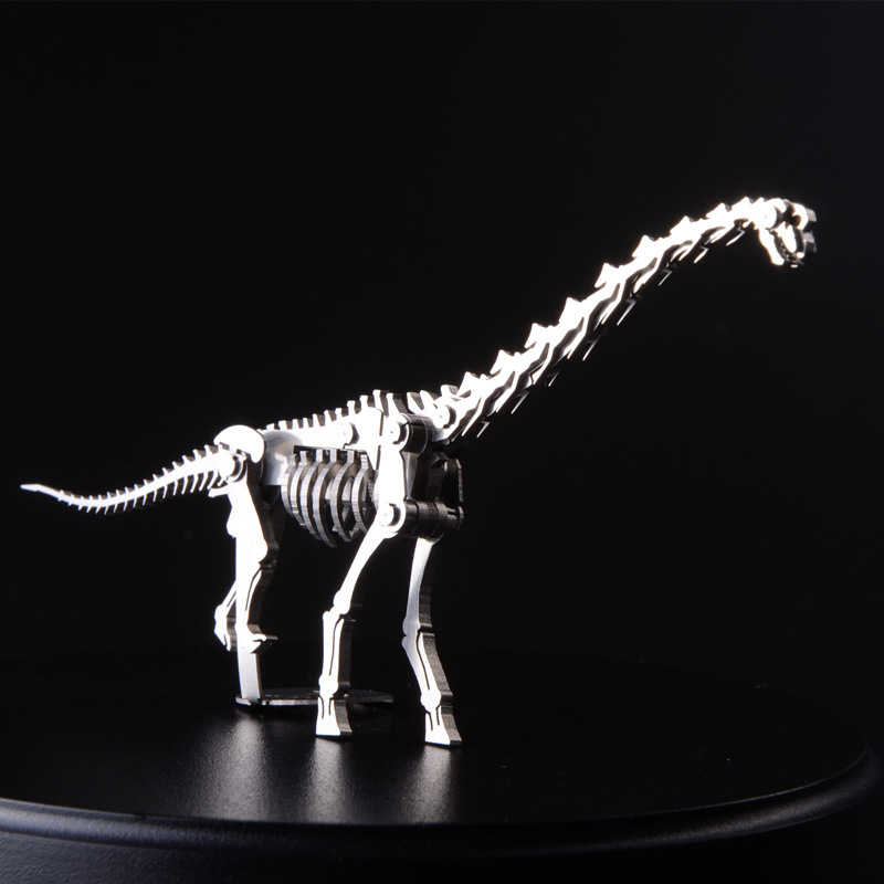 3D Wyvern Model Metal Puzzle Assembling Dinosaur Cut Jigsaws Children DIY Toys Manual Creative Christmas Gifts TK0141(China (Mainland))