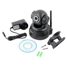 100X Sricam Wireless IP Webcam Camera Night Vision 11 LED WIFI Cam M-JPEG Video with AU PLUG(China (Mainland))