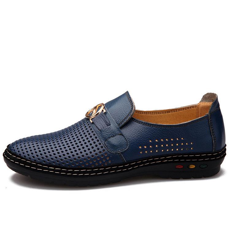 designer mens loafers leather genuine leather european