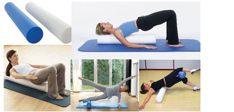 2015 free shipping new hot EVA foam roller yoga blocks 30/60cm length high density fitness home gym pilates exercise massage(China (Mainland))