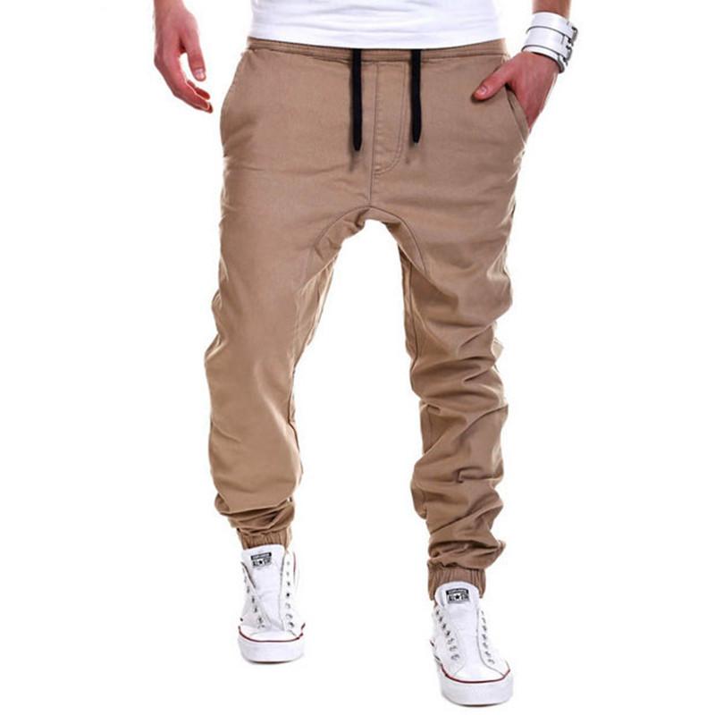 Mens Joggers Sport Pants Men Hip-hop Drop Crotch Sweatpants Jogging Harem Pants Hipster Trousers Men Pantalones Hombre(China (Mainland))
