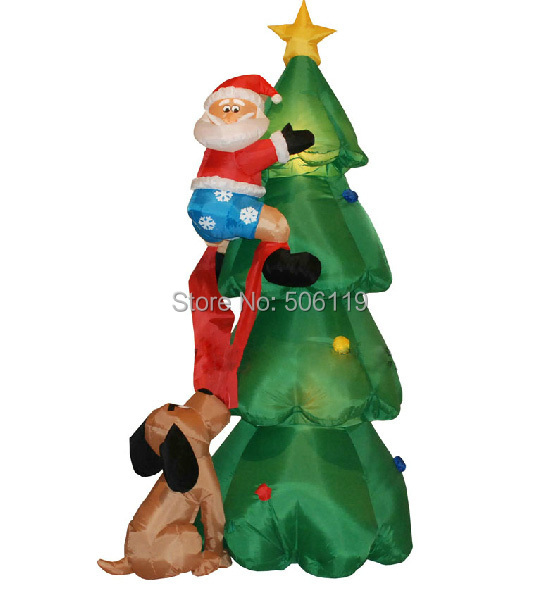 Inflatable christmas decoration 1.8 meters christmas tree decoration Christmas(China (Mainland))