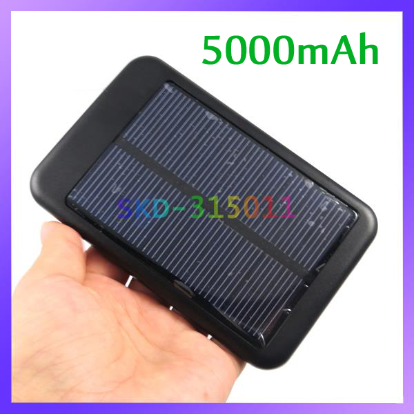 Sun Travel Power Backup Battery 5000mAh Solar Battery for Mobile Phones Digital Cameras GPS PSP(China (Mainland))