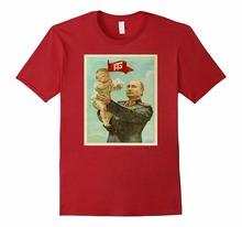 Buy High Men'S Brand Clothing T-shirt Homme Trump Baby Putin t shirt Design T Shirts Men Printing Short for $11.49 in AliExpress store