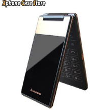 Original Lenovo A588t 4''  Android 4.4  ROM 4GB Vertical Flip Smartphone MTK6582M Quad Core Dual SIM GSM Network(China (Mainland))