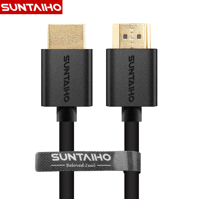 Suntaiho 9FT 1M,2M,3M,5M,10M High speed Gold Plated Plug Male-Male HDMI Cable 1.4 Version w Nylon net 1080p 3D for HDTV XBOX PS3(China (Mainland))