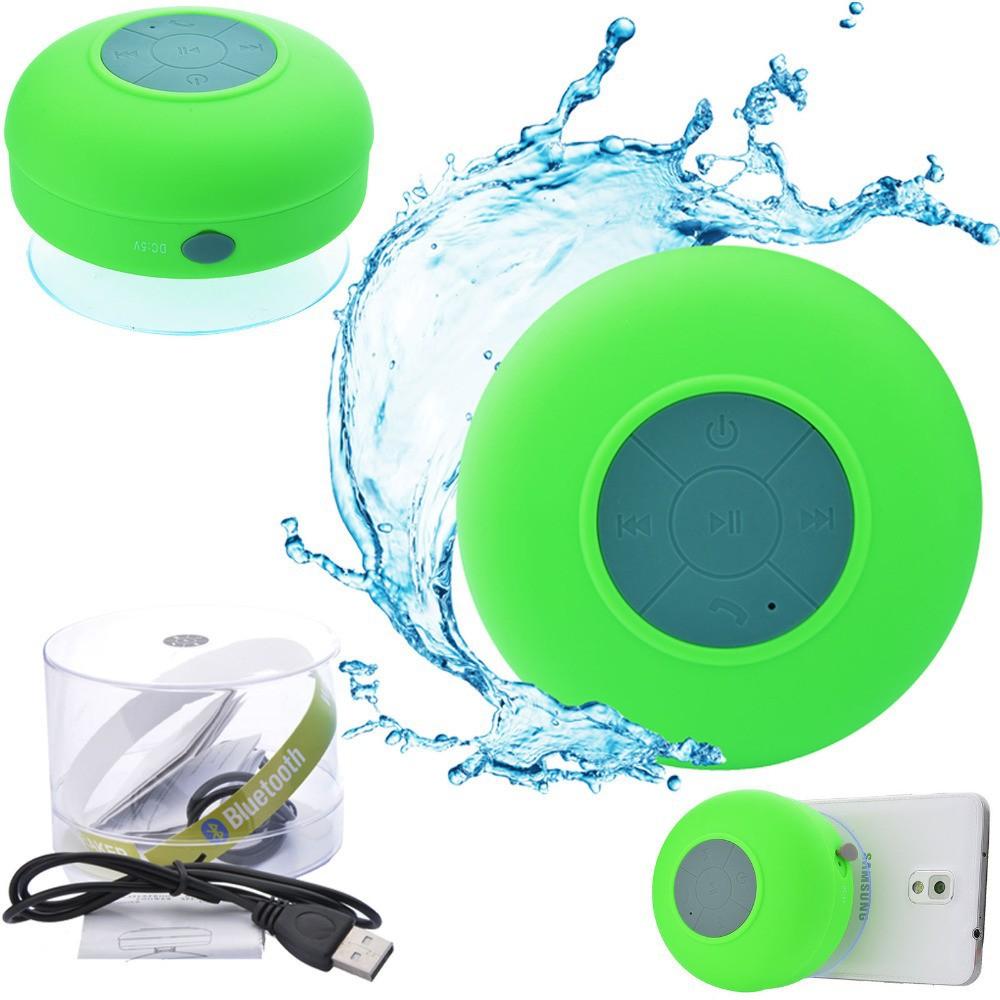 2015 Distributor Portable Bluetooth Waterproof Speaker Water In Door Bathroom / Shower Spaceship Speaker(China (Mainland))