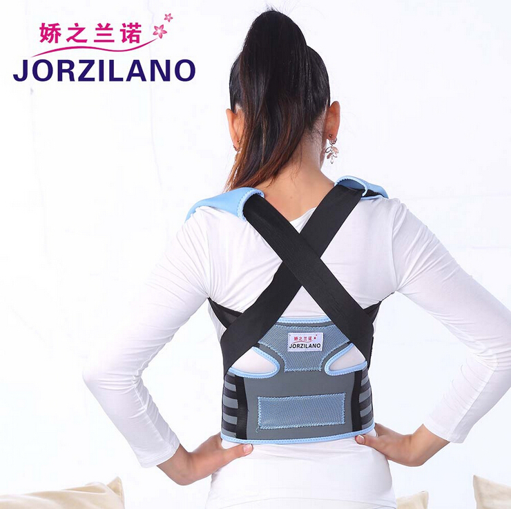 Magnetic Shoulder Posture Corrector Back Straighten out Belt Braces & Supports Orthopaedic Adjustable braces & supports Size M(China (Mainland))