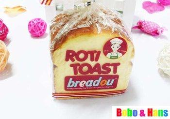 gratis verzending/nieuwe schattige breadou toast brood squishy speelgoed/lovely stijl geschenk/groothandel