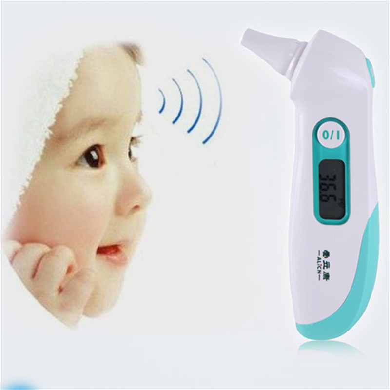 Baby ear thermometer for baby measure in second, Only for ear accurate to measure, CE approved test fever accurately in clinic(China (Mainland))