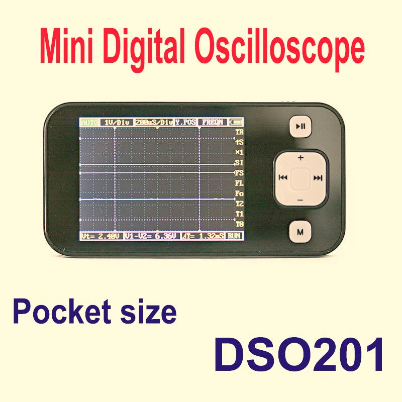 Фотография free shipping!!! Wholesale & Retail mini Pocket 2.8inch LCD  Digital Oscilloscope DSO nano  DS0201