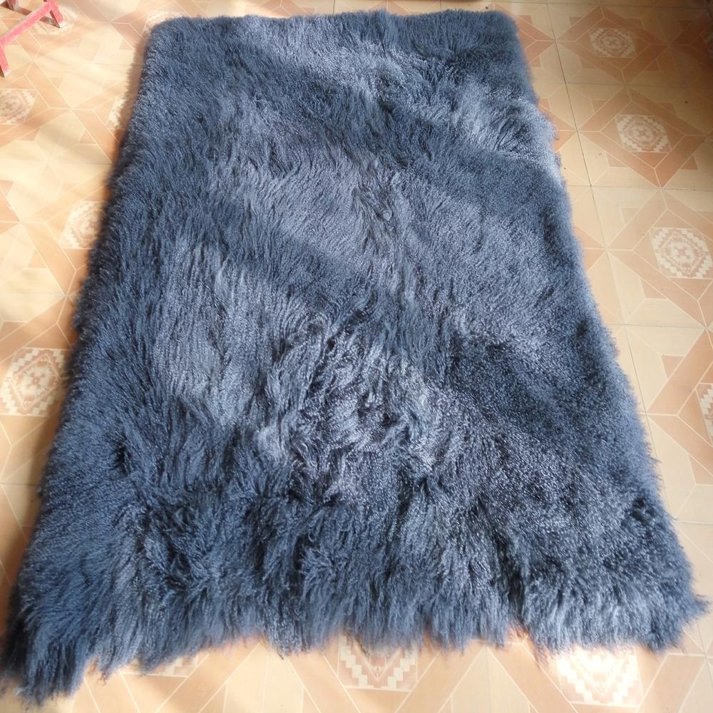 Compra manta de piel de oveja online al por mayor de china - Mantas de piel ...