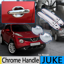 Buy Nissan JUKE 2010-2016 F15 Chrome Door Handle Covers Trim Set 2Door Infiniti Esq Accessories Stickers Car-Styling 2013 for $14.26 in AliExpress store
