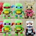 2016 New 6pcs lot NECA Toy Funko Pop 8cm Teenage Mutant Ninja Turtles Action Figure TMNT