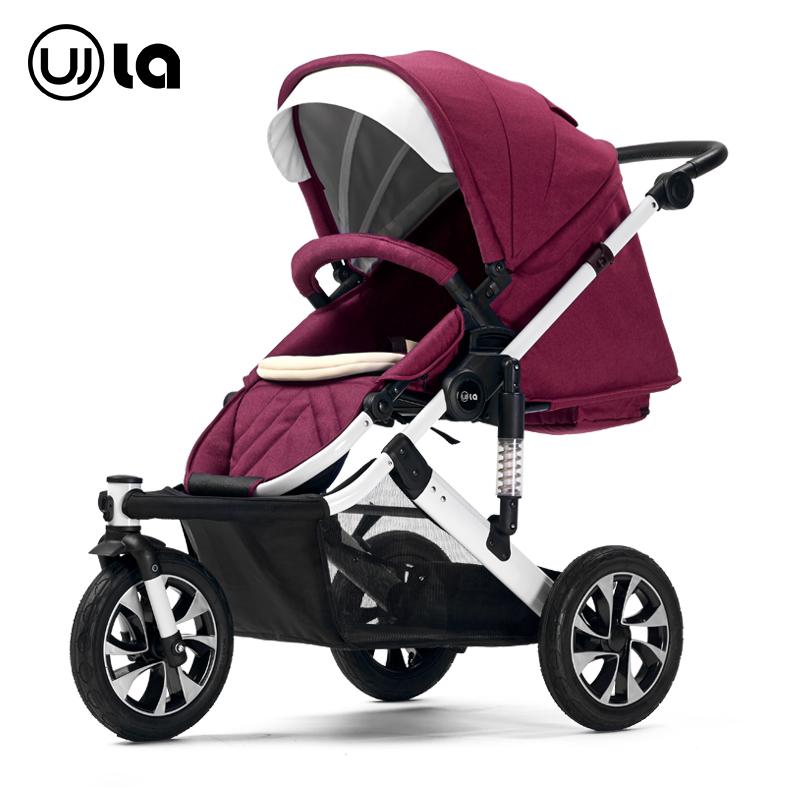 Stroller high landscape pram suspension can sit lie three-wheel folding carts buggies baby stroller<br><br>Aliexpress