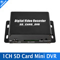 1 Channel CCTV Mini DVR Digital Video Recorder SD Card Motion Detection Audio Recording For Mobile