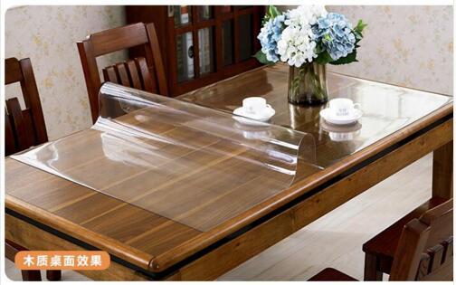 Transparent pvc nappe achetez des lots petit prix - Nappe transparente pour table en verre ...