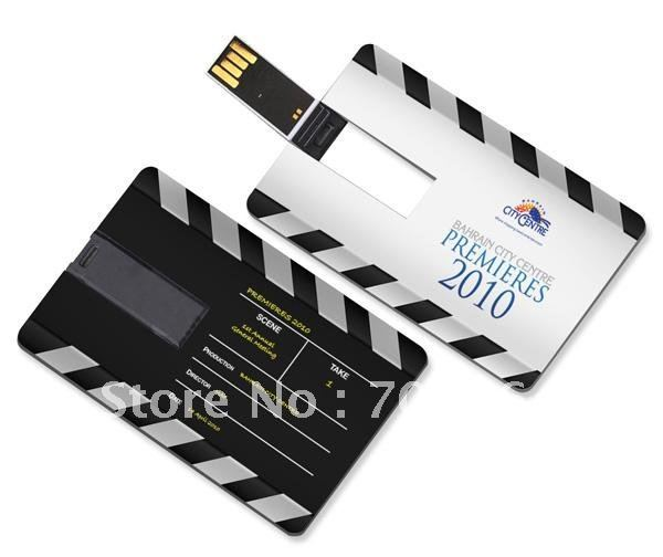 Cheapest 1000pcs/lot credit card shape without memory with full color printing