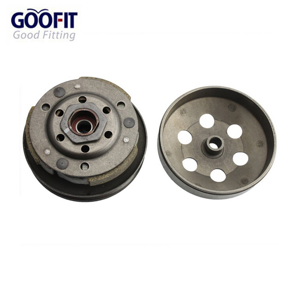 GOOFIT Complete Clutch Assembly 50cc 60cc 80cc font b Gy6 b font Qmb139 Engines Parts Scooter