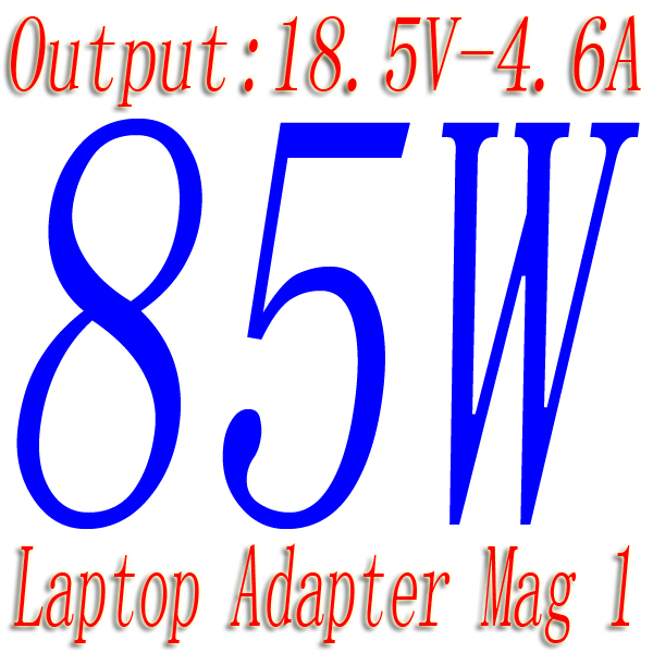 """Laptop Adapter 85W 18V 4.6A Magsafe L tip Power Adapter Charger for MacBook Pro 15"""" 17"""" Before June 2012 Adapter Charger(China (Mainland))"""