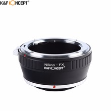 Buy K&F CONCEPT Camera Lens Mount Adapter Ring Nikon AI AF Lens Fujifilm Fuji FX X-series X-Pro1 X-E1 Mirroless Camera body for $22.31 in AliExpress store
