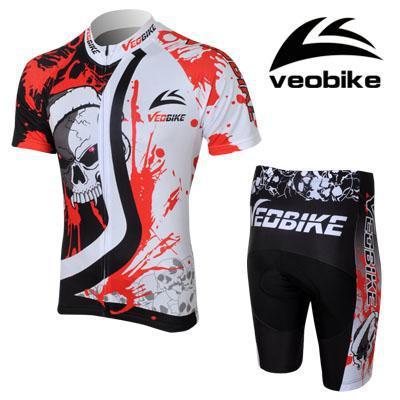 2016 CHEJI Men Summer Short Sleeve Cycling Clothes Suit Breathable Men Cycling Clothing Jersey Set Cycling Bib Sets Sport Jersey(China (Mainland))