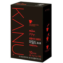 Imported from South Korea maxim kanu American pure black coffee without sugar and milk free shipping