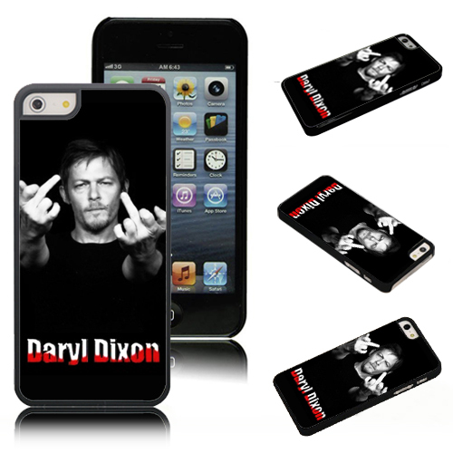 ShenYu Walking Dead Daryl dixon 02 Skin Cases Iphone 4 4s 5 5S 5C Cover - Cosmetics Co., Ltd store