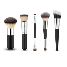Paradise Hot New 5pcs Cosmetic Makeup Brush Blusher Eye Shadow Brushes Set Kit Free Shipping Jul27