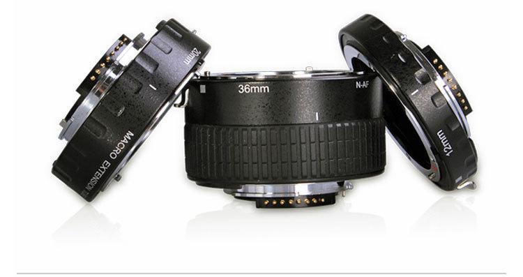Custom manufacturing service digital camera accessories AUTO FOCUS extension tubes(China (Mainland))