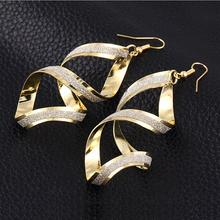 Hot long leaf dangle Drop Earrings fashion Alloy vintage Earring wholesale women wedding jewelry(China (Mainland))