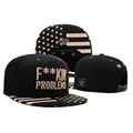Hot Fashion Hip Hop gorras F kin Problems Brand Black Snapback caps Men Hip Pop Baseball